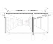 Corte Pabellón De Agua